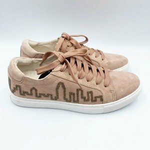 Kenneth Cole NWT Suede Kam Skyline Sneakers 7.5